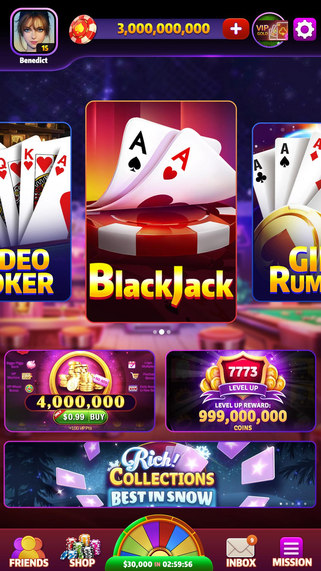 Blackjack Video Poker Triwin Poker Free Games For Android