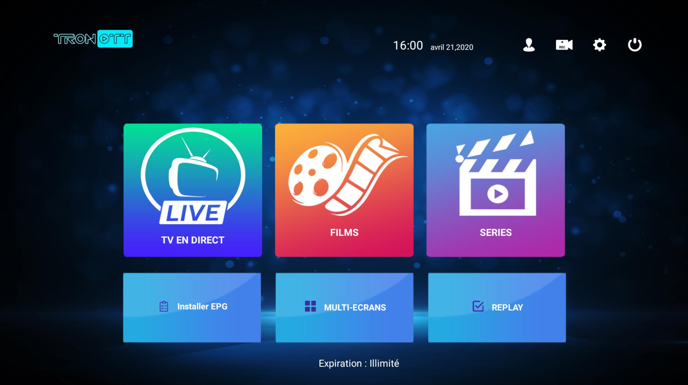 TRON OTT Player for Android - APK Download