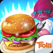 Poppy Chef Burger Trolls icon