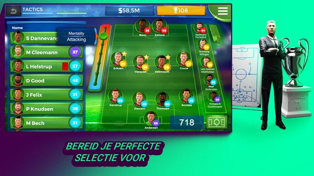 Pro 11 - Football Manager Game screenshot 1