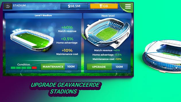 Pro 11 - Football Manager Game screenshot 2