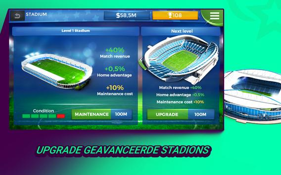 Pro 11 - Football Manager Game screenshot 7