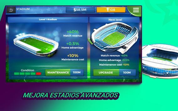 Pro 11 - Online Football Manager captura de pantalla 12