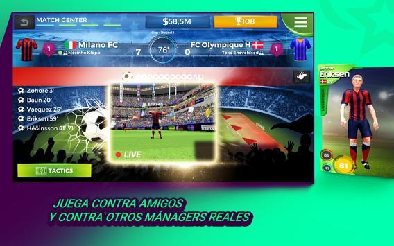 Pro 11 - Online Football Manager captura de pantalla 5