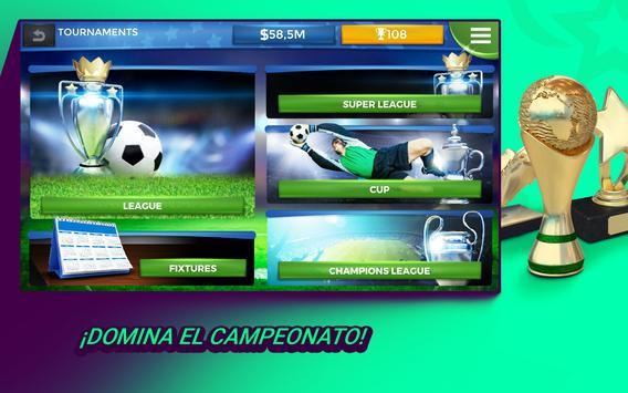 Pro 11 - Online Football Manager captura de pantalla 9