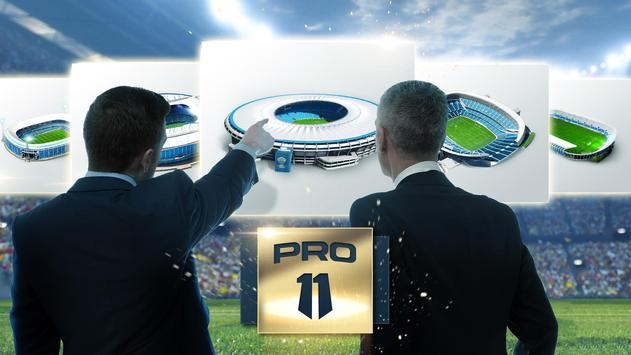 Pro 11 - Soccer Manager Game poster