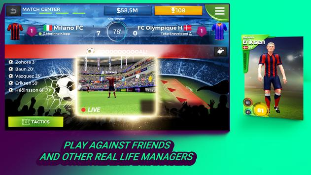 Pro 11 - Football Manager Game 海報