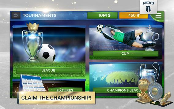 Pro 11 - Soccer Manager Game screenshot 11
