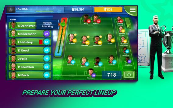 Pro 11 - Football Manager Game 截圖 11