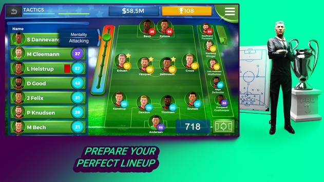Pro 11 - Football Manager Game 截圖 1