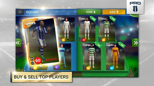 Pro 11 - Soccer Manager Game screenshot 2