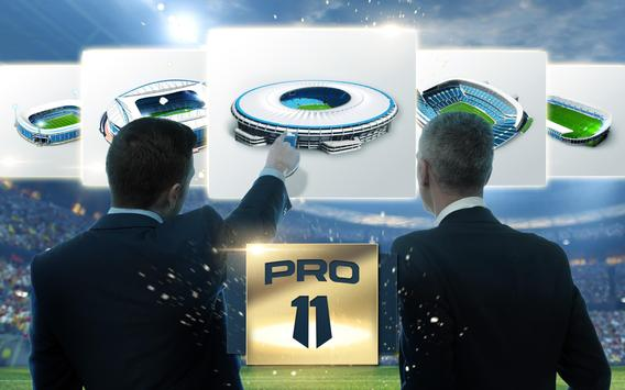 Pro 11 - Soccer Manager Game screenshot 6