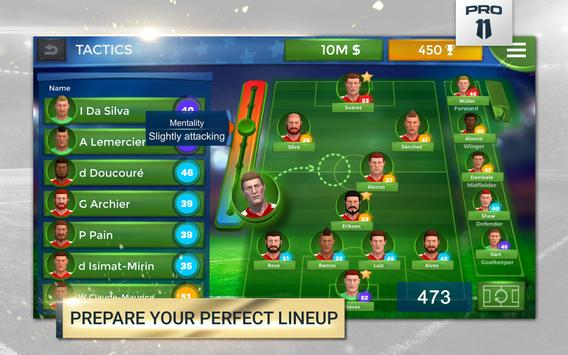 Pro 11 - Soccer Manager Game screenshot 7