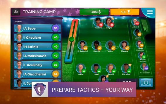 Women's Soccer Manager (WSM) - Football Management screenshot 8