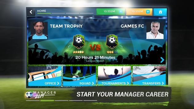 Football Management Ultra 2020 - Manager Game screenshot 1