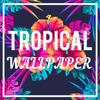 Icona Tropical Wallpaper