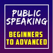 Public Speaking for Beginners to Advanced Zeichen