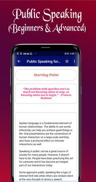 Public Speaking for Beginners to Advanced Screenshot 7