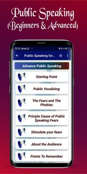 Public Speaking for Beginners to Advanced Screenshot 1