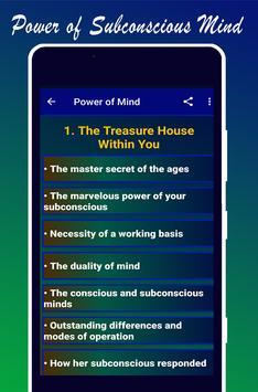Power of Subconscious Mind imagem de tela 1