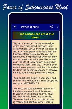 Power of Subconscious Mind imagem de tela 4