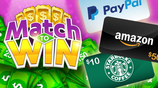 Match To Win: Win Real Prizes & Lucky Match 3 Game screenshot 22