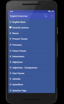 English Grammar 스크린샷 8
