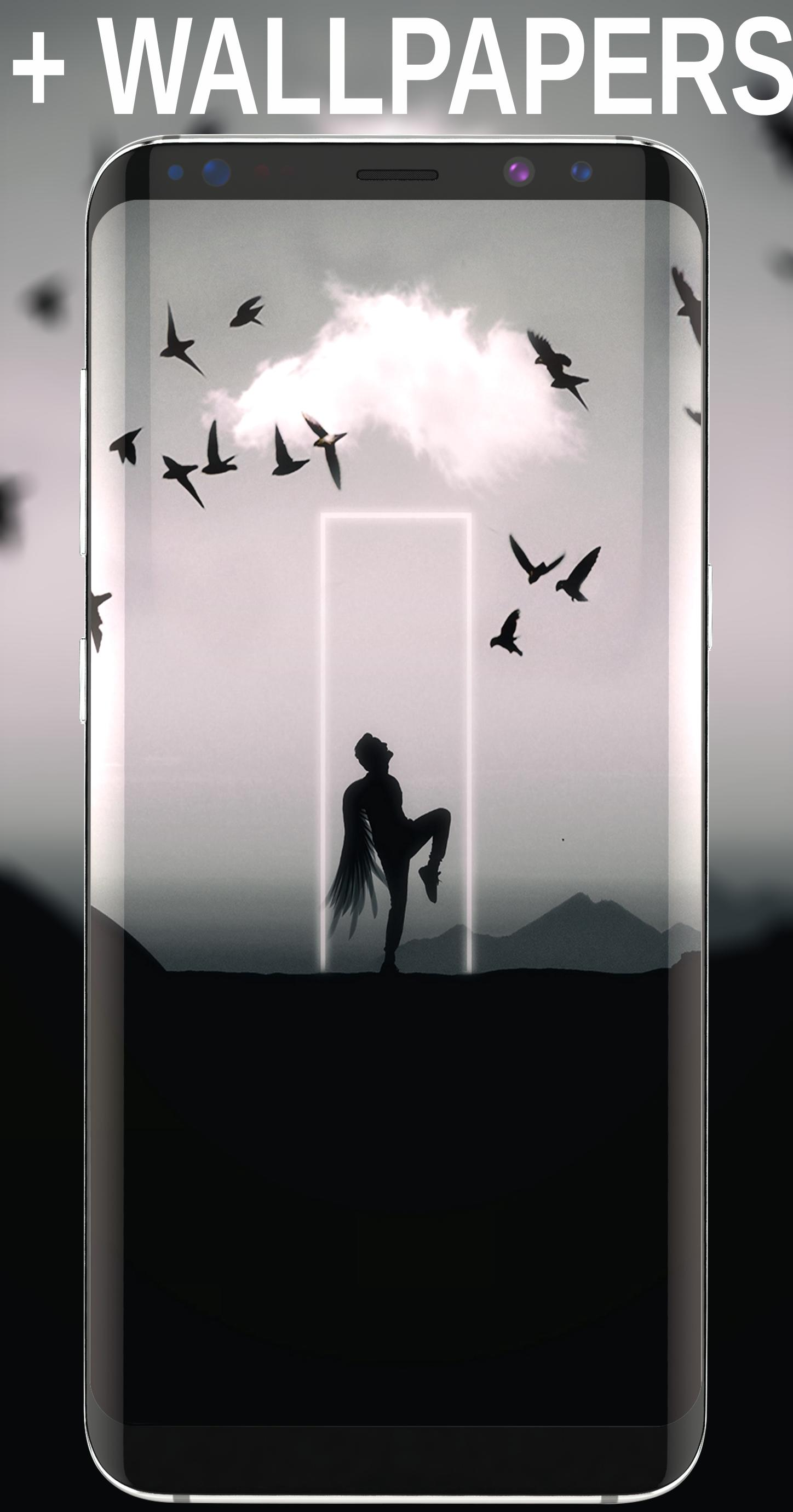 Angel Dark Lock Screen Wallpapers For Android Apk Download