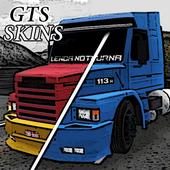 Truck Driving Skins - Multicolor GTS Trucks icon