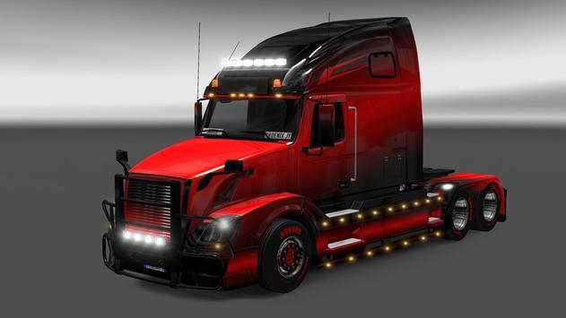Truck Driving Skins - Multicolor GTS Trucks screenshot 1