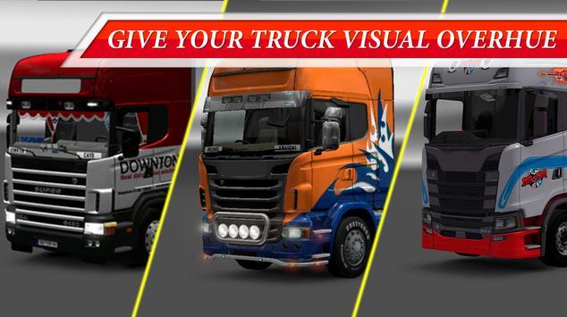 Truck Driving Skins - Multicolor GTS Trucks screenshot 3