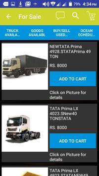 Book Truck or Load for intercity goods transport. screenshot 3