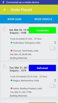 Book Truck or Load for intercity goods transport. screenshot 7