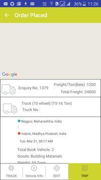 Book Truck or Load for intercity goods transport. screenshot 6