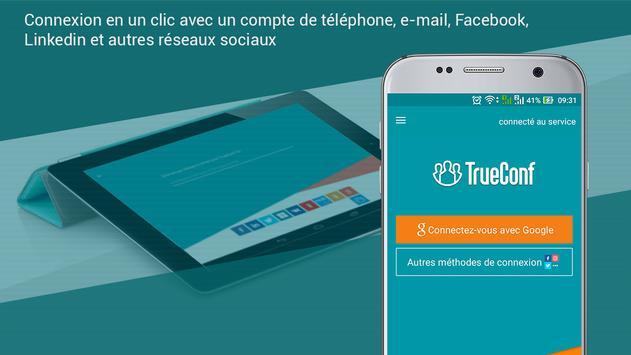 Appel visio TrueConf capture d'écran 2