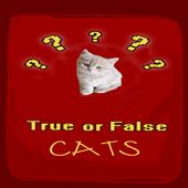 True False Trivia Cats quiz icon