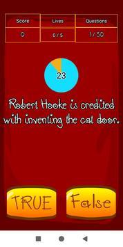 True False Trivia Cats quiz screenshot 4