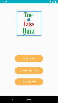 Family Games - Best True or False Trivia Quiz poster