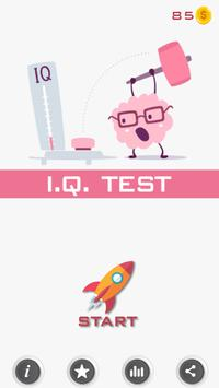 IQ Test poster