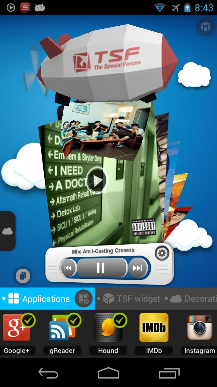 TSF Launcher 3D Shell for Android - APK Download