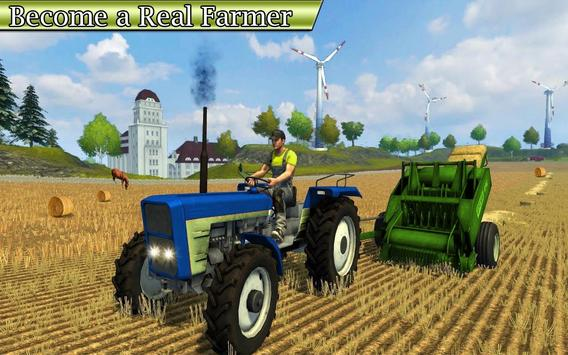Drive Farming Tractor Cargo Simulator 🚜 poster