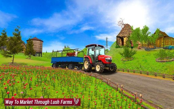 Drive Farming Tractor Cargo Simulator screenshot 17