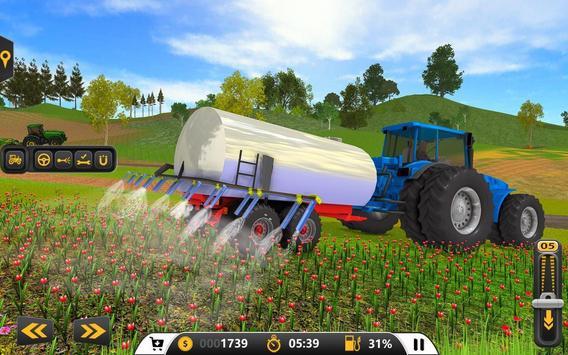 Drive Farming Tractor Cargo Simulator screenshot 12