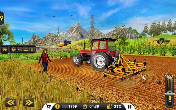 Drive Farming Tractor Cargo Simulator screenshot 3