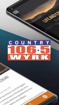 Country 106.5 WYRK - Today's Country - Buffalo screenshot 1