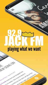 92.9 Jack FM screenshot 1
