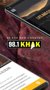 98.1 KHAK screenshot 1
