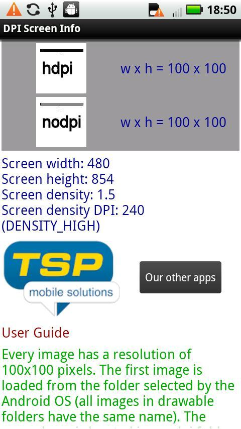 DPI Screen Info for Android - APK Download