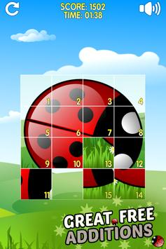 Flowers and Ladybug screenshot 1