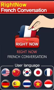RightNow French Conversation poster